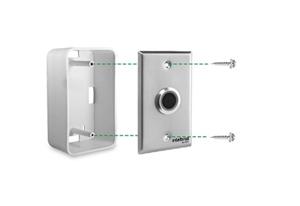 Conte com mais flexibilidade na instalação Acionador de Abertura Infravermelho Intelbras BT 4000