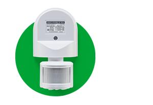 Controle de tempo com o Sensor de presença para iluminação ESP 180 AE Intelbras