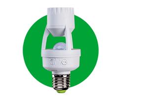 Controle de tempo Sensor de presença para iluminação para Soquete E27 ESP 360 S Intelbras