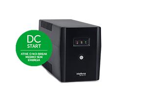 DC start: nobreak ligado mesmo sem energia com o Nobreak Intelbras 1800 VA XNB 1800