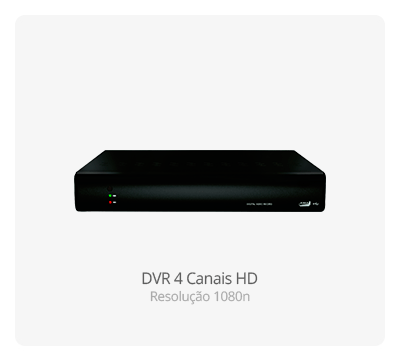 DVR Stand Alone 4 Canais HD 1080n
