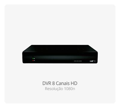 DVR Stand Alone 8 Canais HD 1080n