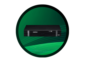 DVR Intelbras HD MHDX 1004 4 Canais 1080n
