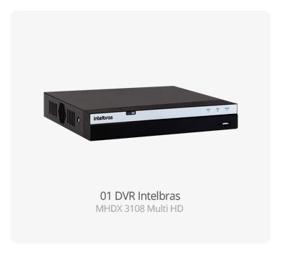 DVR Intelbras MHDX 3108 MultiHD FULL HD