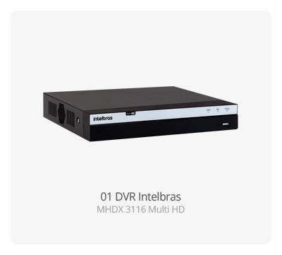 DVR Intelbras MHDX 3116 MultiHD FULL HD