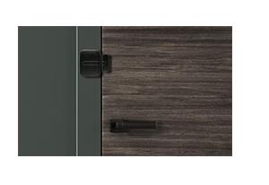 Design em cores discretas e harmônicas com o ambiente com o Sensor de Abertura Intelbras Sem Fio XAS Light