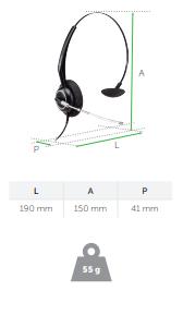 Compatibilidade total do Headset Intelbras THS 55 QD