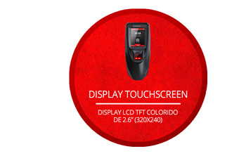 Display touchscreen da iDAccess