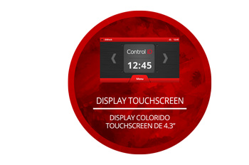 Display touchscreen da iDBlock