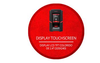 Display touchscreen da iDFit