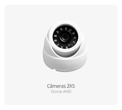 Câmeras ZKS Dome AHD