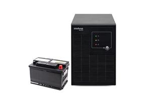 Engate para bateria externa com o Nobreak Senoidal Intelbras SNB 2000VA Bivolt 6 Tomadas