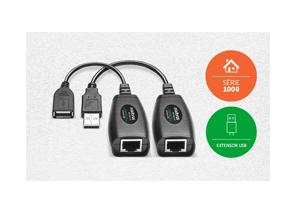 Facilidade nas instalações a longas distâncias com o Extensor USB Alcance até 50m Intelbras VEX 1050 USB
