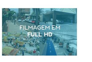 Segurança em alta definição com a Câmera de Segurança Full HD WiFi Full HD 1080p IR 25m IP66