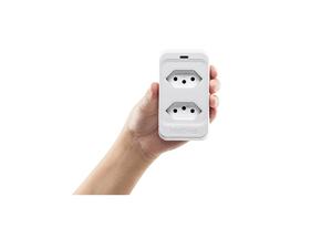 Filtro de linha contra interferências e ruídos com o Dispositivo de Proteção Elétrica Intelbras EPS 302