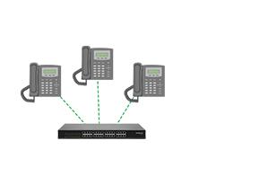 Flexibilidade para controlar o atendimento Gateway de voz Intelbras 16 Portas GW 216 S