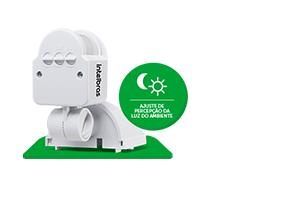 Função Fotocélula com o Sensor de presença para iluminação ESP 180 AE Intelbras
