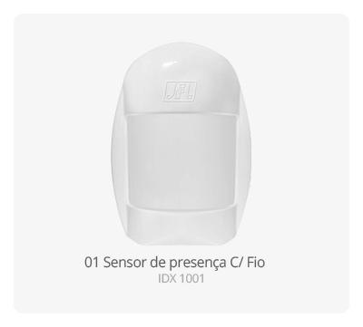 Sensor de presença C/ Fio IDX 1001 JFL