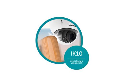 Proteção Contra Sol e Chuva IP66 com a Câmera Intelbras Varifocal VHD 3230 D VF G4 Multi HD Full HD 1080p