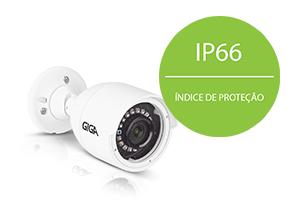 Câmera Giga Security Orion Ultra HD GS0047 Multi HD IR 30m 5 Megapixelscom IP66: Proteção contra Sol e chuva