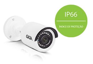 Câmera Giga Security Orion Full HD GS0271 Multi HD IR 20m 1080pcom IP66: Proteção contra Sol e chuva