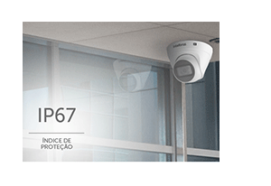 Câmera Intelbras VIP 1020 D G2 com IP67: Proteção contra Sol e chuva