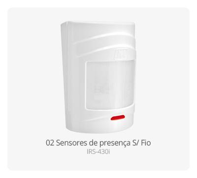 Sensor de presença S/ Fio IRS-430i JFL