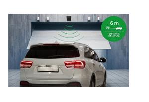 Identifique os veículos a uma distância de até 6 metros com a Etiqueta de Acionamento Veicular RFID 900MHz Intelbras TH 3010