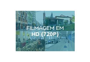 Segurança em alta definição com a Câmera de Segurança HD WiFi Full HD 720p IR 30m IP66