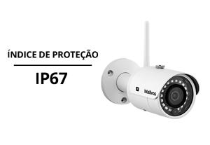 Proteções da Câmera Intelbras IP Wi-Fi HD VIP 3230 W 1080p