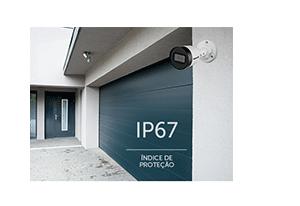 Câmera Intelbras VIP 1020 B G2 com IP67: Proteção contra Sol e chuva