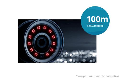Câmera Intelbras Speed Dome Starlight Full HD VHD 5225 SD IR 1080p HDCVI Zoom 25x com infravermelho de 50 metros de alcance
