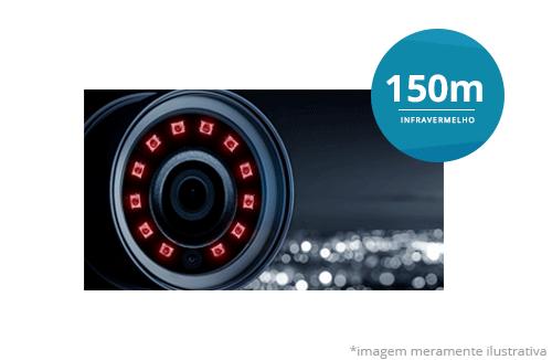Câmera Speed Dome Starlight Hikvision DS-2AE5225T-A(C) Full HD com infravermelho de 50 metros de alcance
