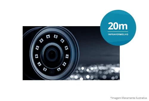 Segurança em alta definição com a Câmera Intelbras HD VHL 1120 B HDCVI Lite 720p