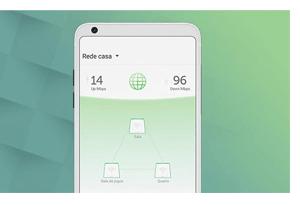 Instale e controle tudo facilmente pelo aplicativo com o Twibi Giga Intelbras