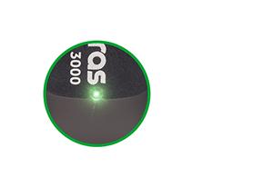 LED para indicar o status do funcionamento do Adaptador USB wireless com antena externa IWA 3000 Intelbras