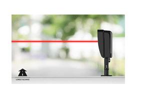 Longo alcance de proteção dos infravermelhos com o Sensor de Barreira Infravermelho Ativo Alcance 60m Intelbras IVA 5040 AT