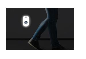 Luz de emergência com a Luminária LED com Sensor de Presença Intelbras ESI 5003