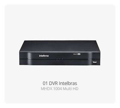 DVR Intelbras MHDX 1004 MultiHD
