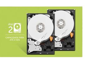 Capacidade máxima em armazenamento para projetos especiais com o DVR Intelbras Full HD 32 canais MHDX 3132 Multi HD 5MP Lite
