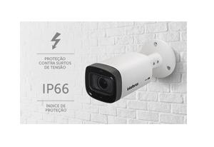 Câmera Intelbras Varifocal HD VHD 3140 VF G5 Multi HD 720p IR 40m com Mais proteção, mais durabilidade