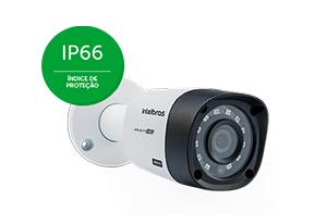 Câmera Intelbras VHD 3130 B G4 com IP66: Proteção contra Sol e chuva