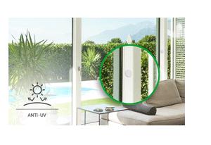 Material anti-UV com o Sensor de Abertura Intelbras Com Fio XAS de Embutir Black (5 Peças)