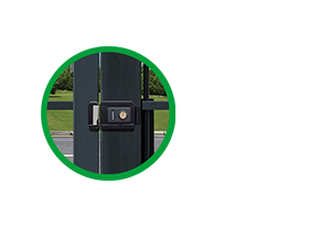 Memória mecânica e abertura suave da Fechadura elétrica de cilindro ajustável Intelbras FX 2000 AJ Cinza
