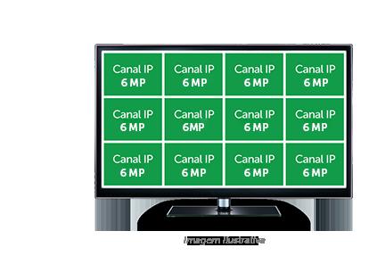 Modo NVR da MHDX 3108 Intelbras