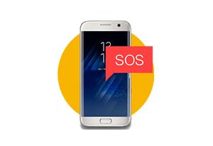 Notificação via aplicativo com a Pulseira de dispositivo de pânico Sec Care JFL