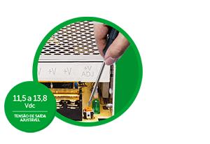Perda de tensão não é mais problema com a EFM 1210 Intelbras