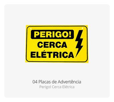 Placa de Advertência