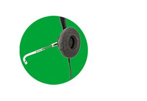 Proteção contra choque acústico do Headset Intelbras THS 55 QD