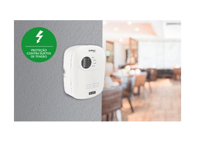 Proteção contra surtos com a Central de Alarme de Incêndio Intelbras Convencional CIC 06L Com Bateria